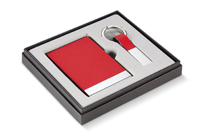 Picture of Todd Gift Set, 2 pieces Red