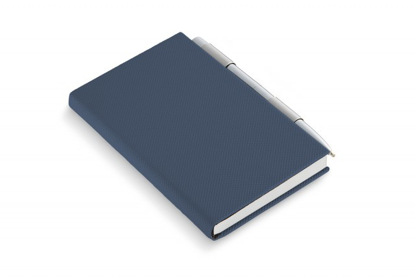 Picture of Todd Notebook with pen, blue