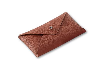 صورة Letter Card holder, Brown