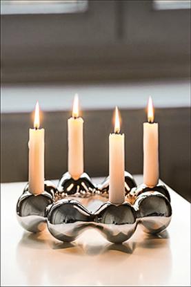 صورة Pearl Candle holder